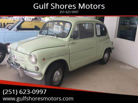 1960 FIAT 600 for sale at Gulf Shores Motors in Gulf Shores AL