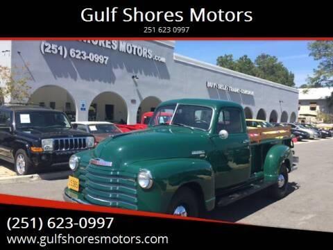 1951 Chevrolet 3600 for sale at Gulf Shores Motors in Gulf Shores AL