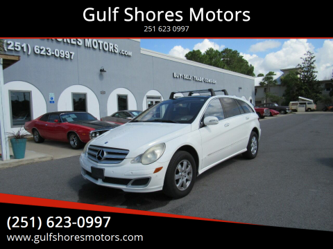 2007 Mercedes-Benz R-Class for sale at Gulf Shores Motors in Gulf Shores AL