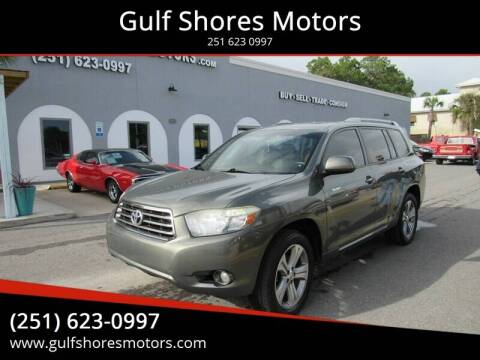 2008 Toyota Highlander for sale at Gulf Shores Motors in Gulf Shores AL