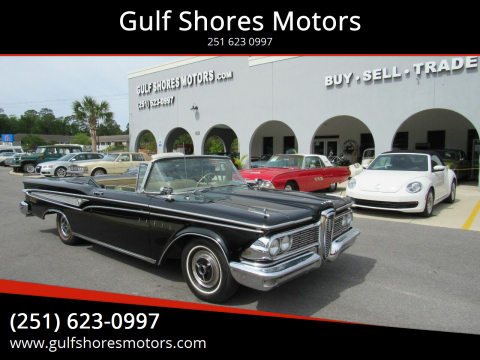1959 Edsel Corsair for sale at Gulf Shores Motors in Gulf Shores AL