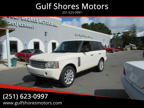 2006 Land Rover Range Rover for sale at Gulf Shores Motors in Gulf Shores AL