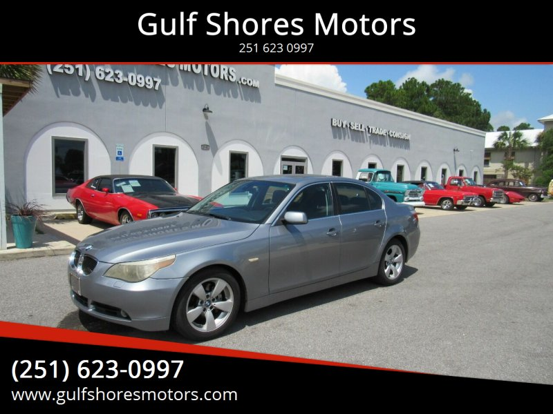 2007 BMW 5 Series for sale at Gulf Shores Motors in Gulf Shores AL