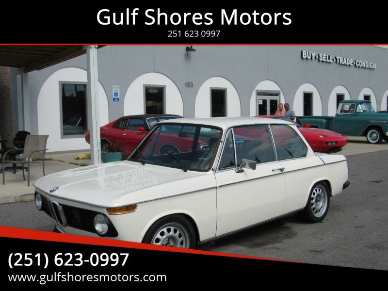 1974 BMW 2002 TII for sale at Gulf Shores Motors in Gulf Shores AL
