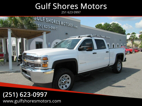 2016 Chevrolet Silverado 2500HD for sale at Gulf Shores Motors in Gulf Shores AL