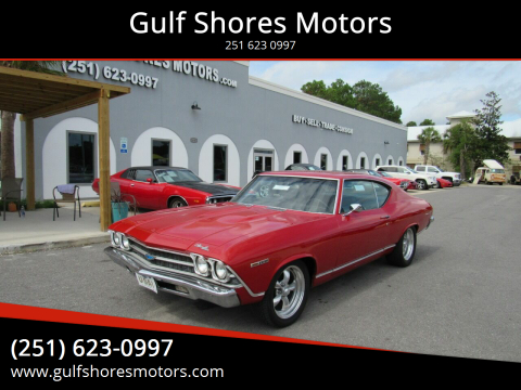 1969 Chevrolet Chevelle for sale at Gulf Shores Motors in Gulf Shores AL