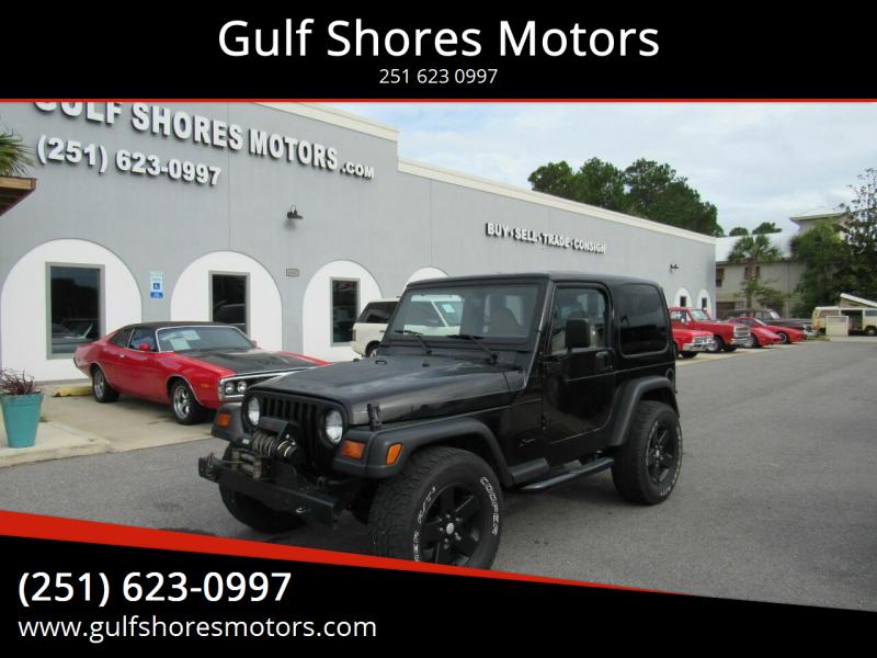 1999 Jeep Wrangler for sale at Gulf Shores Motors in Gulf Shores AL