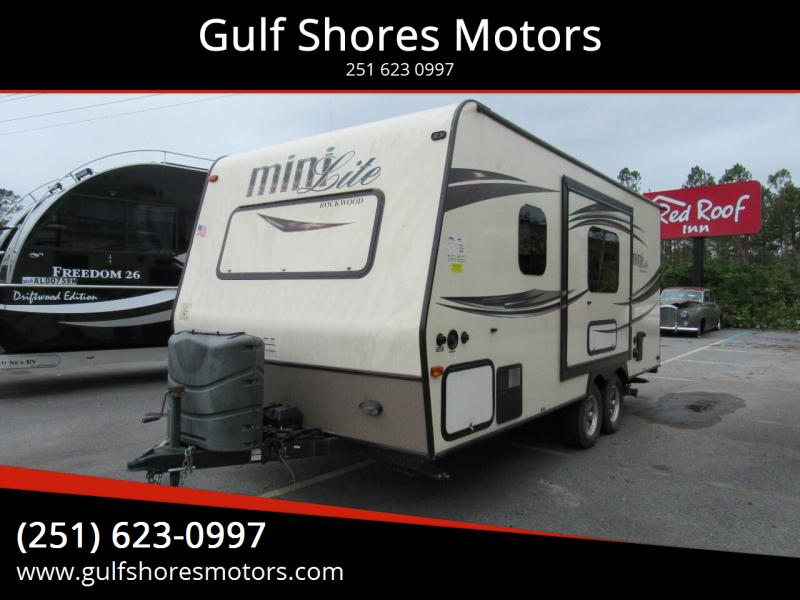 2015 Forest River Rockwood Mini Lite for sale at Gulf Shores Motors in Gulf Shores AL