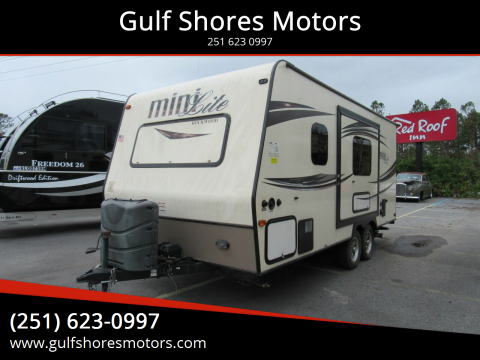 2015 Forest River Rockwood Mini Lite for sale at Gulf Shores Motors in Gulf Shores AL