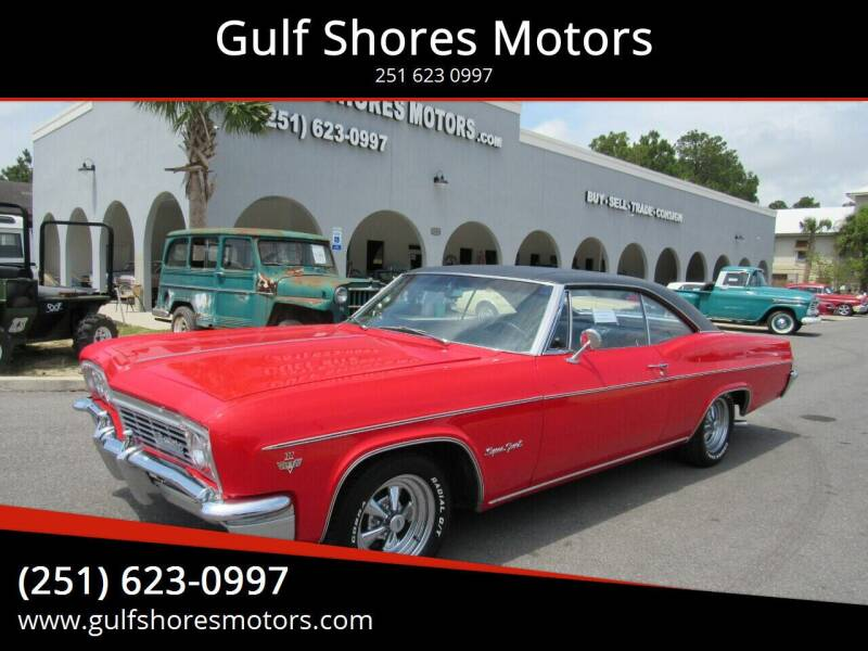 1966 Chevrolet Impala for sale at Gulf Shores Motors in Gulf Shores AL