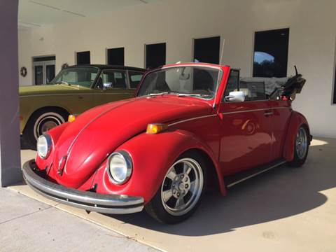 1970 Volkswagen Beetle Convertible for sale at Gulf Shores Motors in Gulf Shores AL
