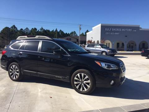 2015 Subaru Outback for sale at Gulf Shores Motors in Gulf Shores AL