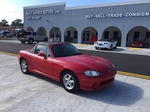 1999 Mazda MX-5 Miata for sale at Gulf Shores Motors in Gulf Shores AL