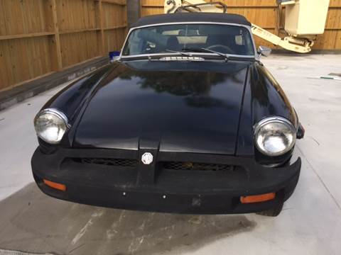 1980 MG MGB for sale in Gulf Shores, AL