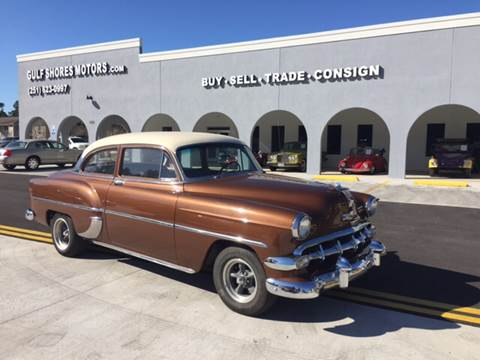 1954 Chevrolet Bel Air for sale at Gulf Shores Motors in Gulf Shores AL