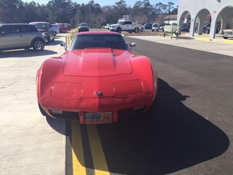 1976 Chevrolet Corvette for sale at Gulf Shores Motors in Gulf Shores AL
