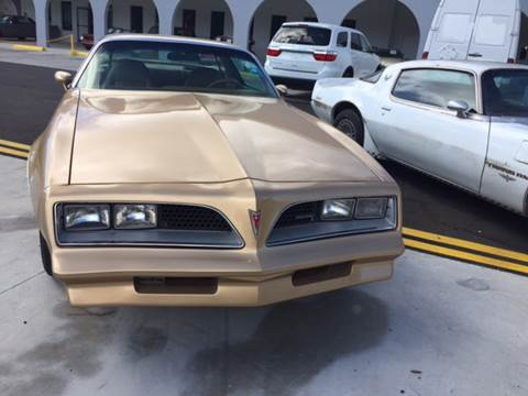 1977 Pontiac Firebird for sale in Gulf Shores, AL