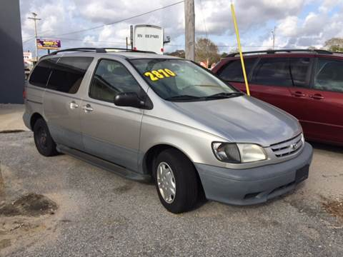 2001 Toyota Sienna for sale at Gulf Shores Motors in Gulf Shores AL