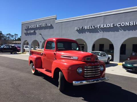 1950 Ford F-100 for sale at Gulf Shores Motors in Gulf Shores AL