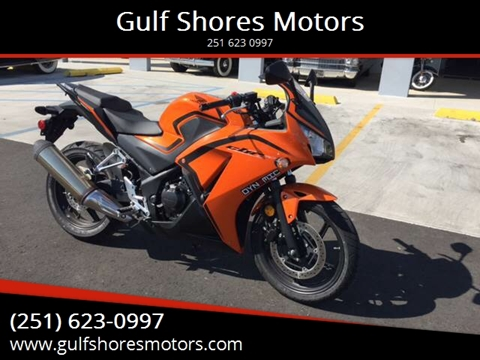 2016 Honda Cbr300r for sale at Gulf Shores Motors in Gulf Shores AL