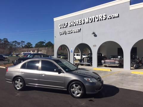 2005 Honda Civic for sale at Gulf Shores Motors in Gulf Shores AL