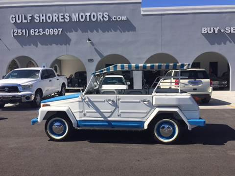 1974 Volkswagen Thing ACAPULCO for sale at Gulf Shores Motors in Gulf Shores AL