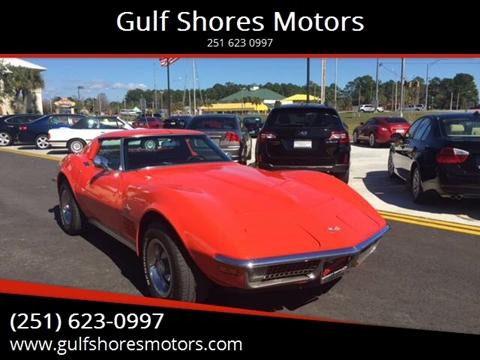 1971 Chevrolet Corvette for sale at Gulf Shores Motors in Gulf Shores AL