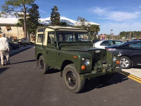 1971 Land Rover Defender for sale at Gulf Shores Motors in Gulf Shores AL