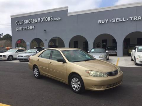 2005 Toyota Camry for sale at Gulf Shores Motors in Gulf Shores AL