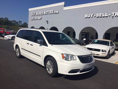 2012 Chrysler Town and Country for sale at Gulf Shores Motors in Gulf Shores AL