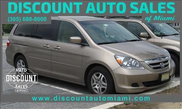 2005 Honda Odyssey for sale in Opa Locka, FL