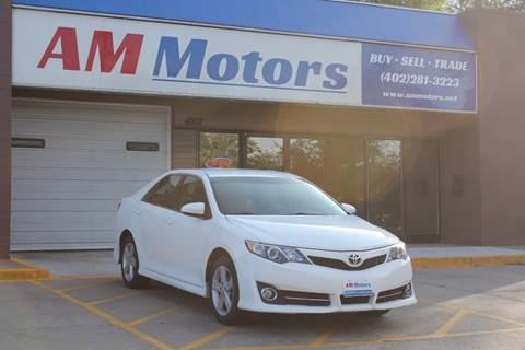 2013 Toyota Camry for sale in Bellevue, NE