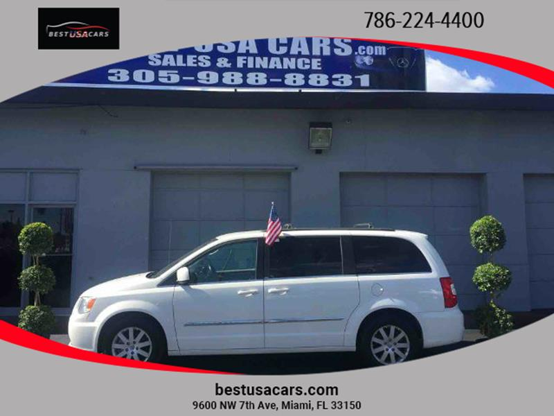 2013 Chrysler Town and Country Touring In Miami FL - Best USA Cars