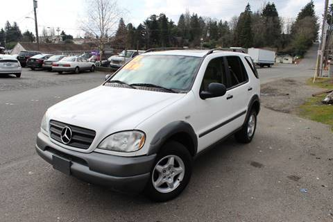 1998 Mercedes-Benz M-Class for sale at Bayview Motor Club, LLC in Seatac WA