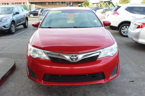 2012 Toyota Camry for sale at Bayview Motor Club, LLC in Seatac WA