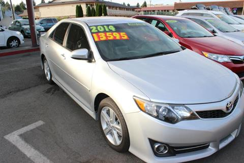 2014 Toyota Camry for sale at Bayview Motor Club, LLC in Seatac WA