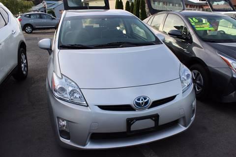 2011 Toyota Prius for sale at Bayview Motor Club, LLC in Seatac WA