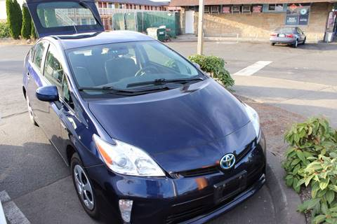 2013 Toyota Prius for sale at Bayview Motor Club in Seattle WA