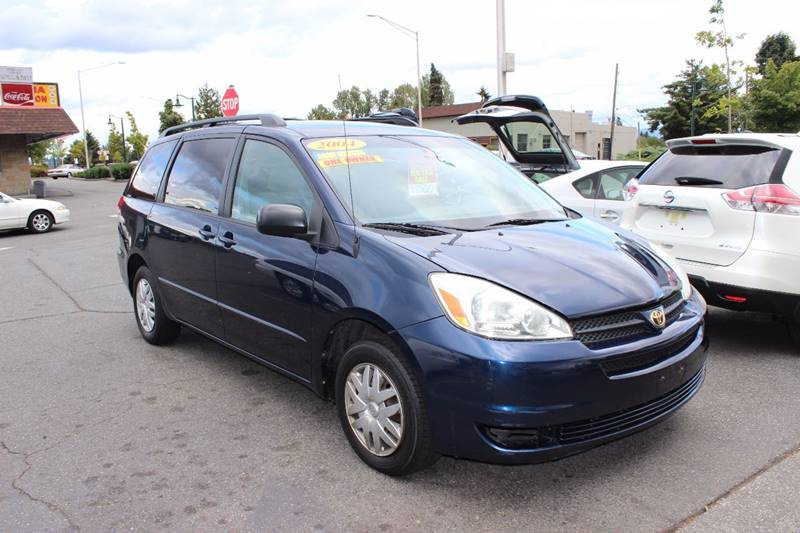 Captivating 2004 Toyota Sienna For Sale At Bayview Motor Club In Seattle WA