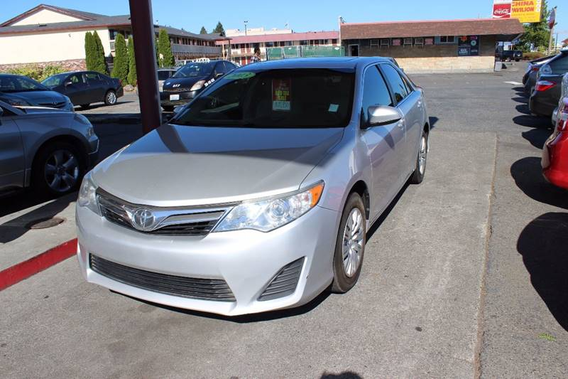 2013 Toyota Camry for sale at Bayview Motor Club in Seattle WA