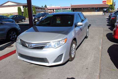 2013 Toyota Camry for sale at Bayview Motor Club, LLC in Seatac WA