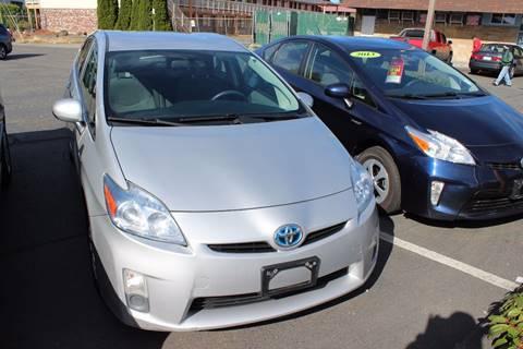 2010 Toyota Prius for sale at Bayview Motor Club, LLC in Seatac WA