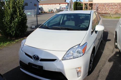 2015 Toyota Prius for sale at Bayview Motor Club, LLC in Seatac WA
