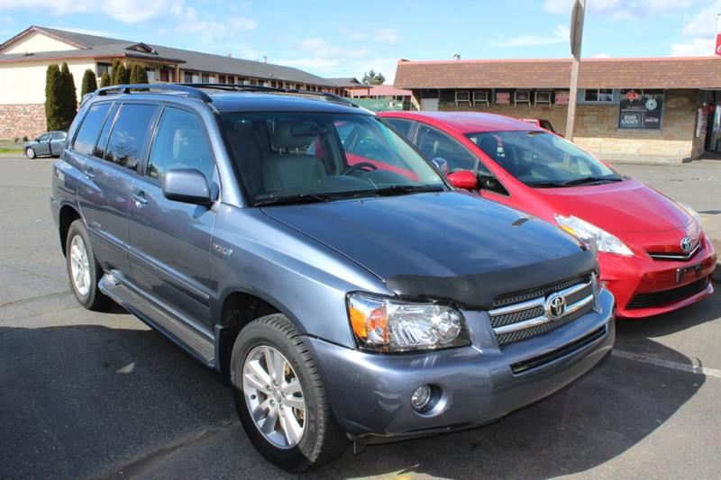 2007 Toyota Highlander Hybrid For Sale At Bayview Motor Club In Seattle WA