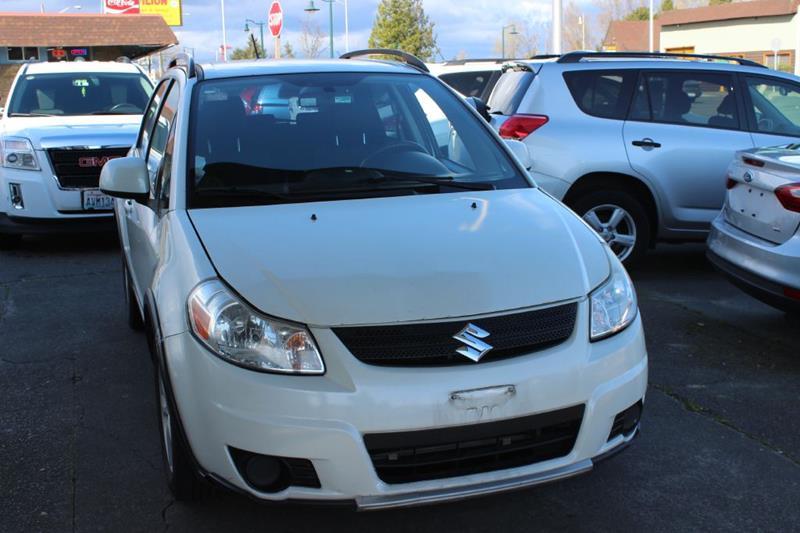 2007 Suzuki SX4 Crossover for sale at Bayview Motor Club, LLC in Seatac WA