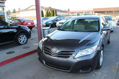 2011 Toyota Camry for sale at Bayview Motor Club, LLC in Seatac WA