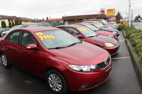 2010 Kia Forte for sale at Bayview Motor Club, LLC in Seatac WA