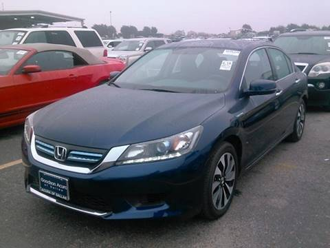 2014 honda accord hybrid for sale