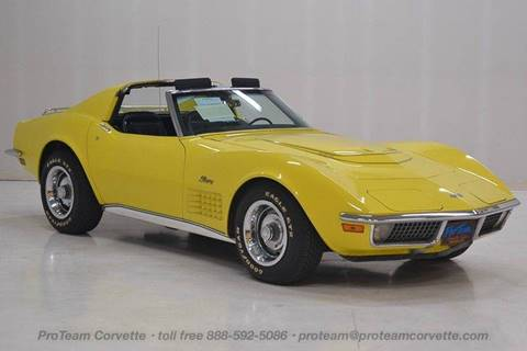 1970 Chevrolet Corvette For Sale In Downingtown Pa Carsforsale Com