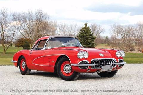 1960 Chevrolet Corvette for sale in Napoleon, OH